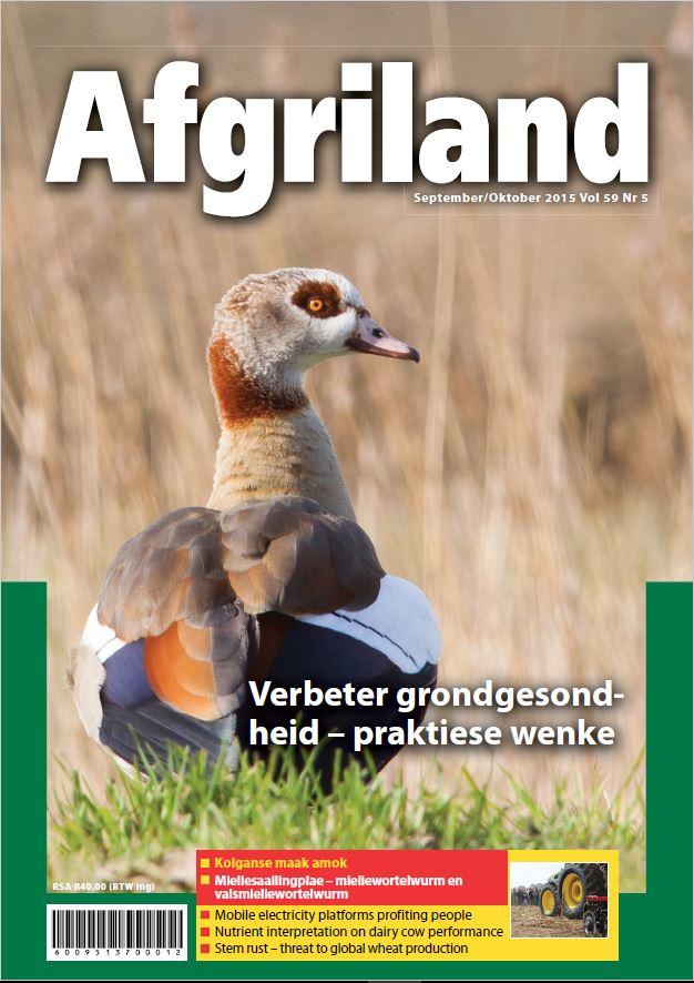 Afgriland Voorblad